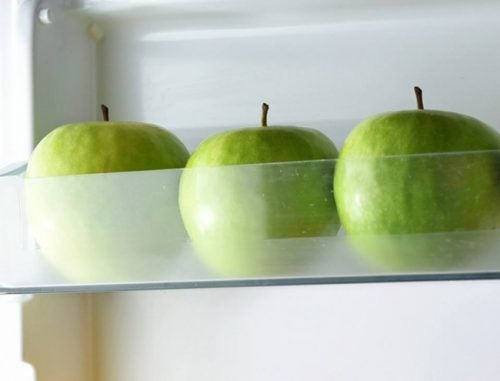 almacenar manzanas