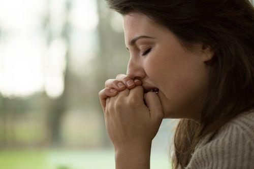 Mujer en tratamiento con ansiolíticos
