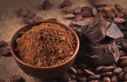 chocolate para daños producidos por el sol