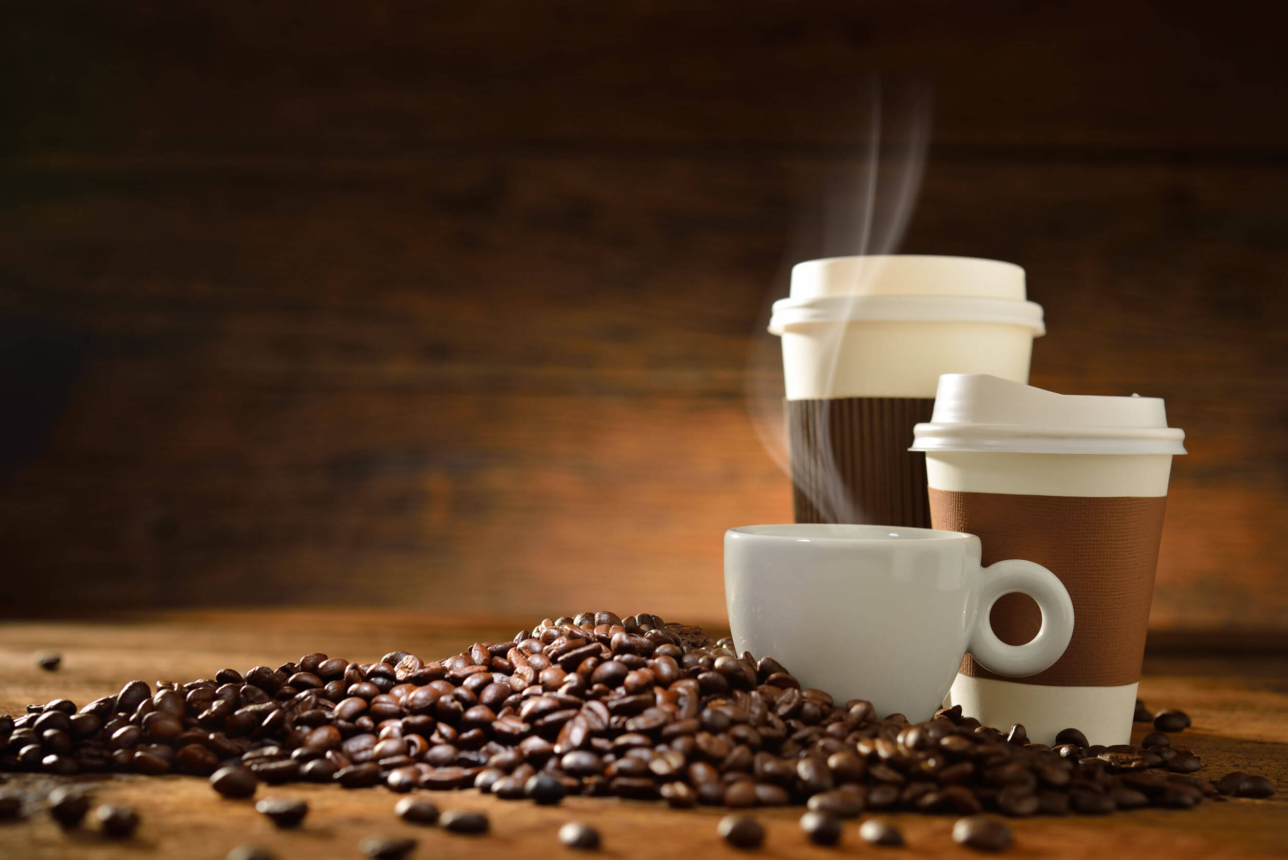 Para despertar de la siesta puede ser necesario el café.