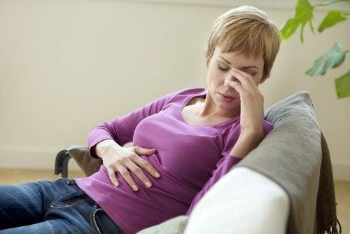 Curar el dolor de estómago