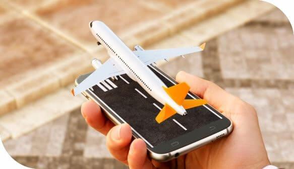 Móvil en modo avión