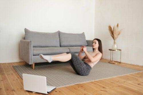 Estos son los mejores ejercicios para abdominales inferiores que podrás hacer