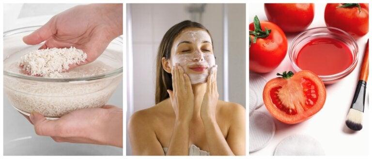 8 productos naturales que aclaran la piel