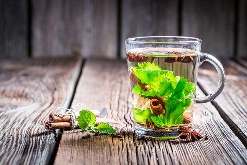 té verde con canela