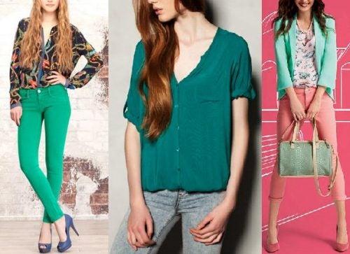 Se aconseja no vestir con más de tres colores al mismo tiempo