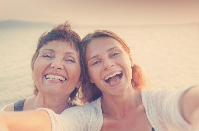Madre e hija.