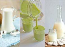 6 bebidas saludables con las que puedes preparar tus batidos verdes