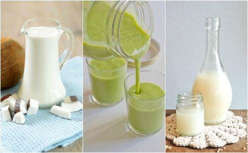 bebidas-naturales-como-la-leche-de-coco-y-los-batidos-verdes