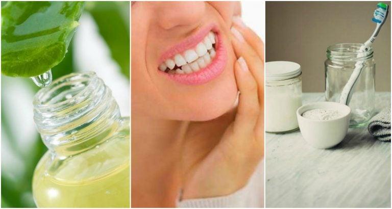 6 remedios caseros para tratar la gingivitis de forma natural