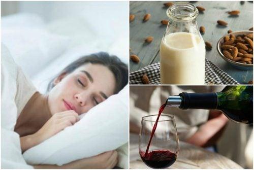 7 bebidas naturales que te ayudarán a combatir los problemas de sueño
