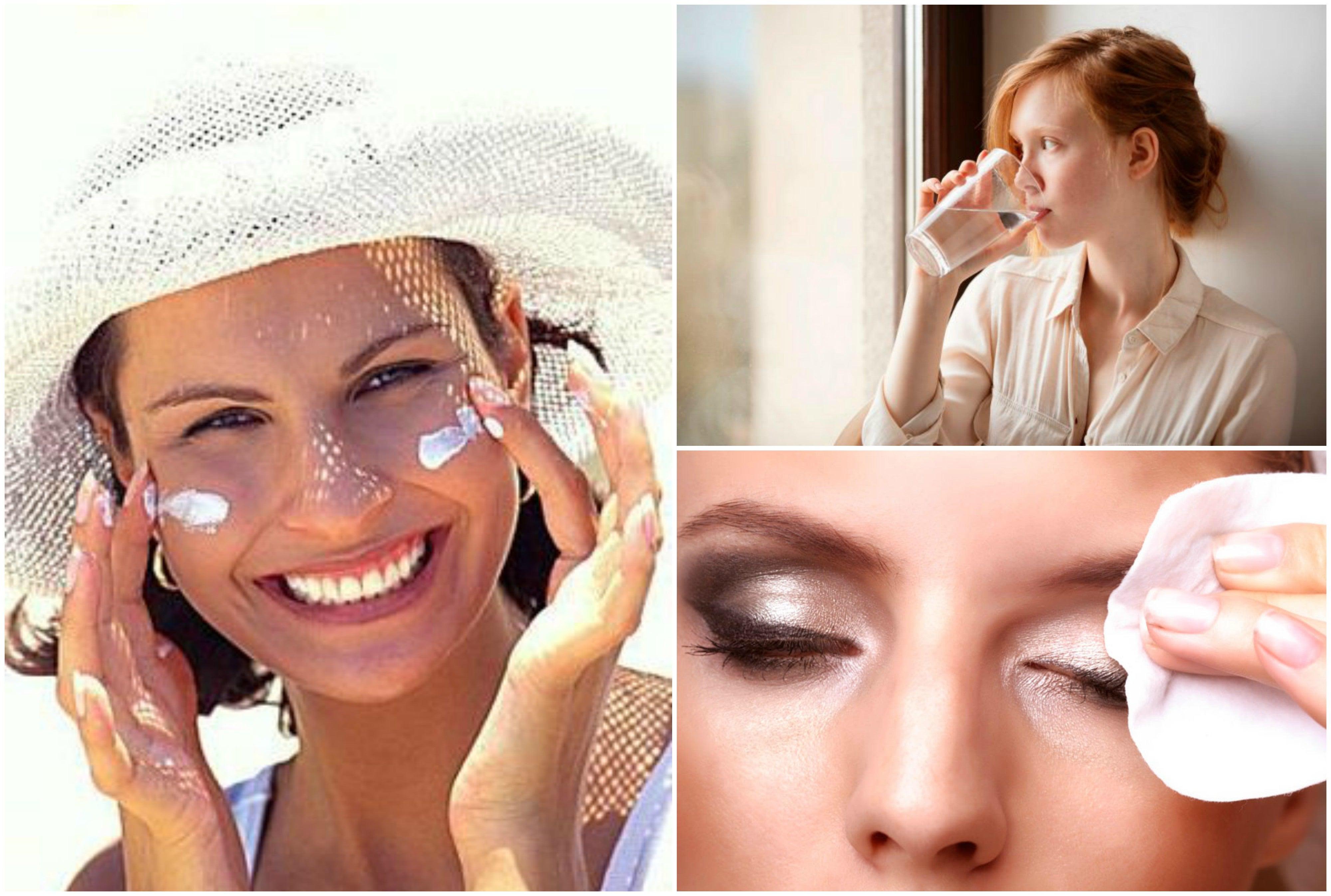 7 sencillos hábitos que debes practicar cada día para cuidar tu rostro