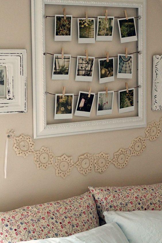 12 fabulosas ideas para decorar tu habitación con fotografías ...