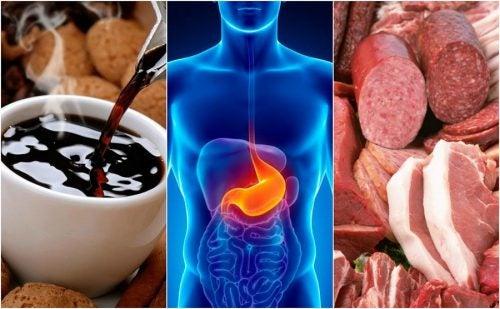 8 alimentos que te pueden causar reflujo ácido