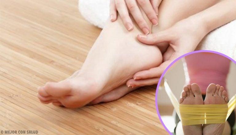 8 ejercicios para fortalecer los pies