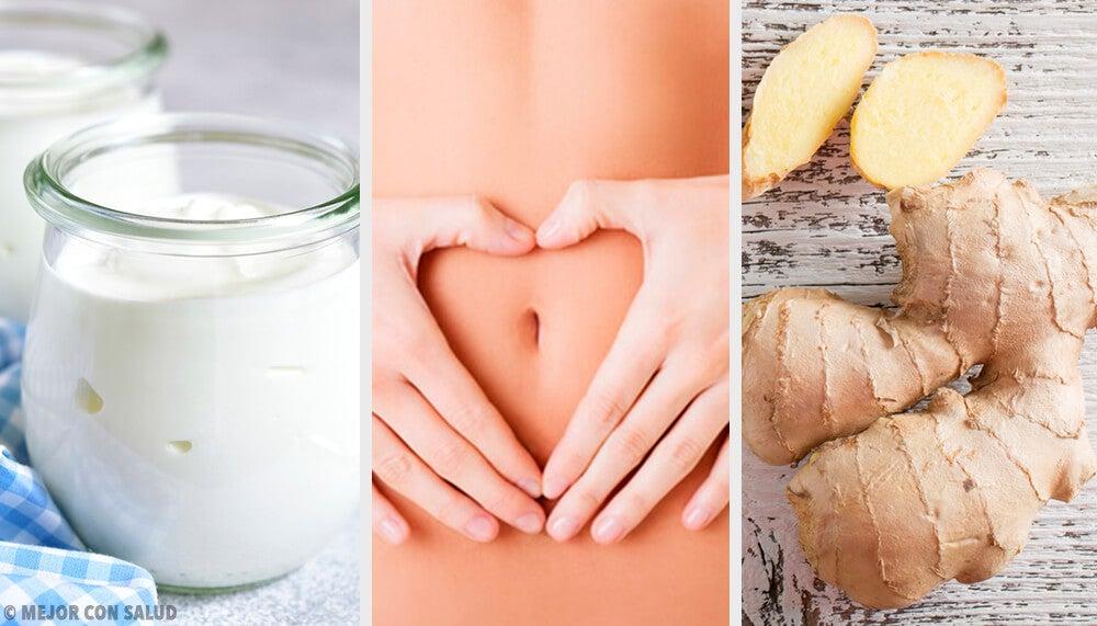 9 alimentos capaces de aliviar tu dolor de estómago