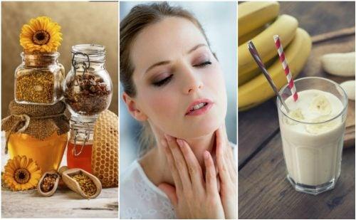6 remedios naturales para aliviar la garganta reseca