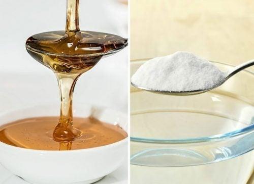 Descubre los beneficios del bicarbonato mezclado con la miel
