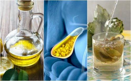 Cálculos biliares: 5 remedios naturales para combatirlos