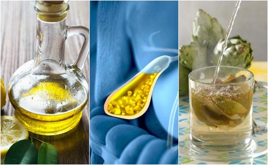 Cómo combatir los cálculos biliares con 5 remedios naturales