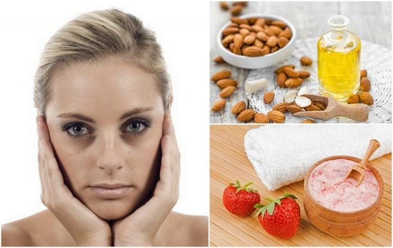 Cómo eliminar las ojeras usando 7 remedios naturales