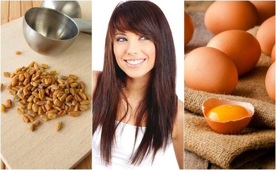 Cómo engrosar el cabello con 6 ingredientes naturales