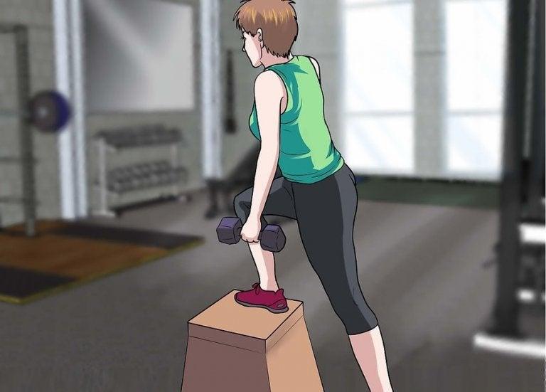 Cómo llevar una rutina de ejercicio para no hipertrofiar los músculos