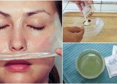 Cómo preparar una mascarilla de gelatina y leche para remover los puntos negros