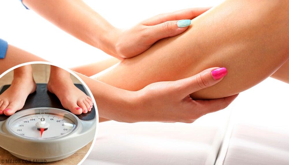 ¿Cómo saber si estás reteniendo líquidos en tu cuerpo?