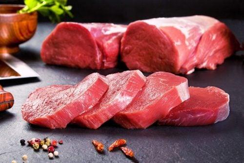 Carne de ternera.