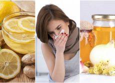 Elimina el exceso de flema y alivia la congestión con estos 5 remedios caseros