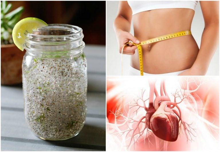 Esto es lo que ocurre en tu cuerpo cuando combinas chía con jugo de limón