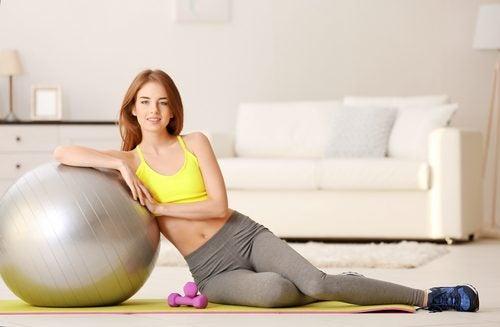 3 ejercicios perfectos para realizar en casa
