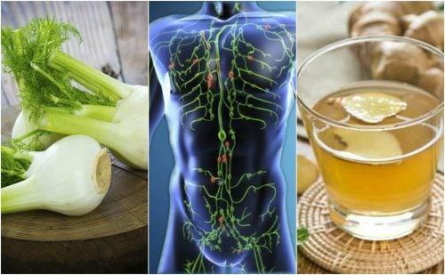 Limpia tu sistema linfático con estos 6 remedios naturales