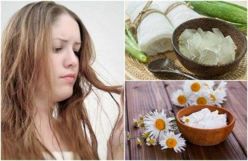 Los 5 mejores remedios caseros para el cabello graso