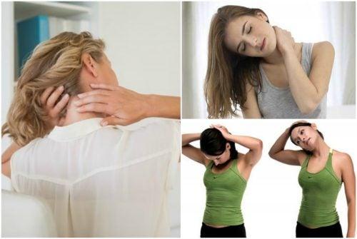 Los 6 mejores ejercicios para calmar el dolor de cuello