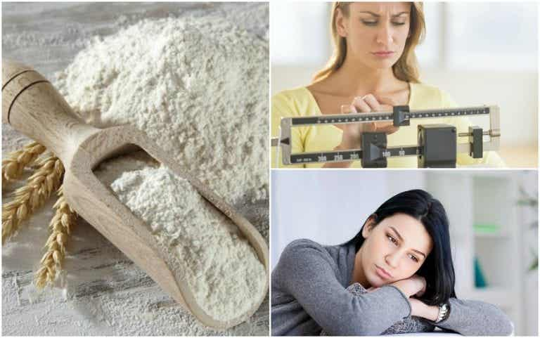 ¿Por qué debes evitar las harinas refinadas? Descubre 5 efectos negativos