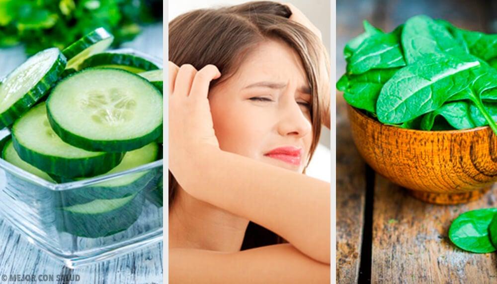 ¿Qué deberías comer si te duele la cabeza?