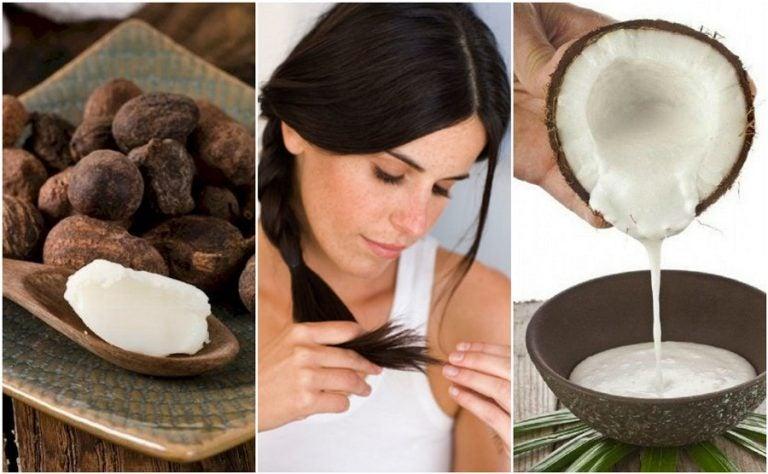 Repara las horquillas de tu cabello usando 6 tratamientos naturales