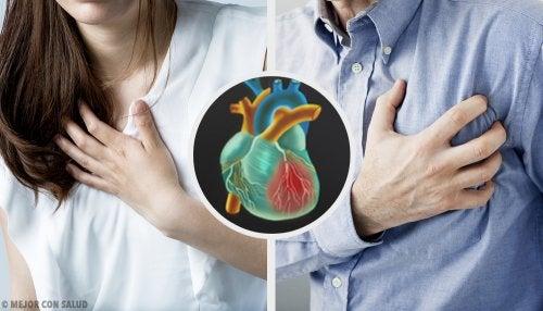 ¿Son diferentes el infarto femenino y el masculino?