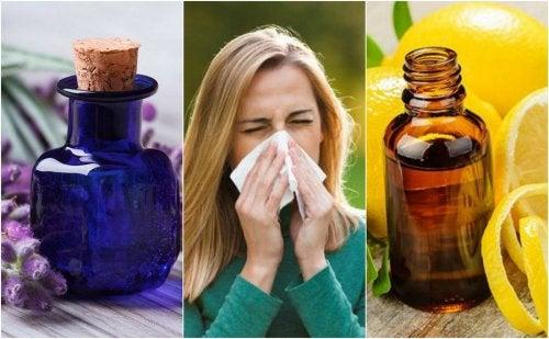 Cómo controlar los síntomas de las alergias con estos 6 aceites esenciales