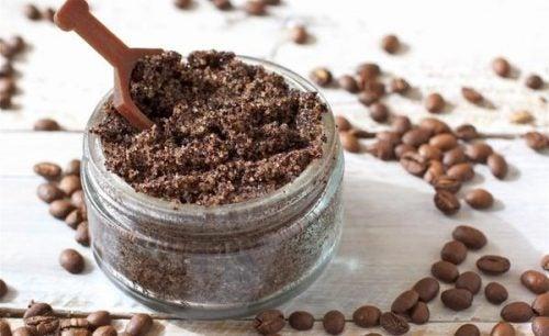 exfoliante de cafe