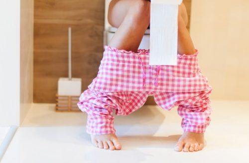 La diarrea es un síntoma de lombrices intestinales