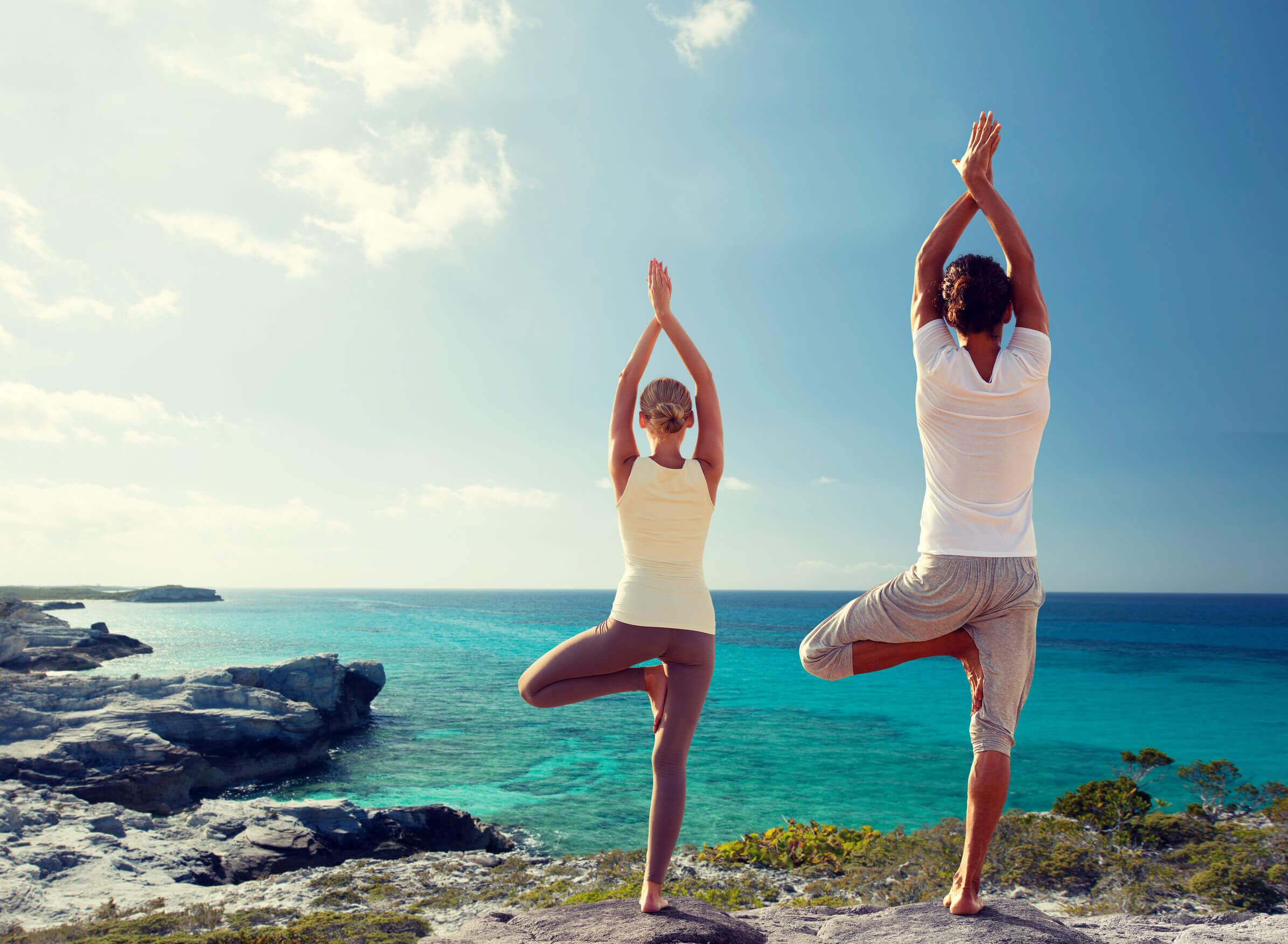 Hacer yoga para perder peso también permite la relajación.