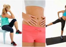 5 ejercicios para hacer con una silla y reducir grasa abdominal