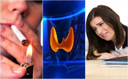 7 malos hábitos que pueden afectar a la salud del tiroides