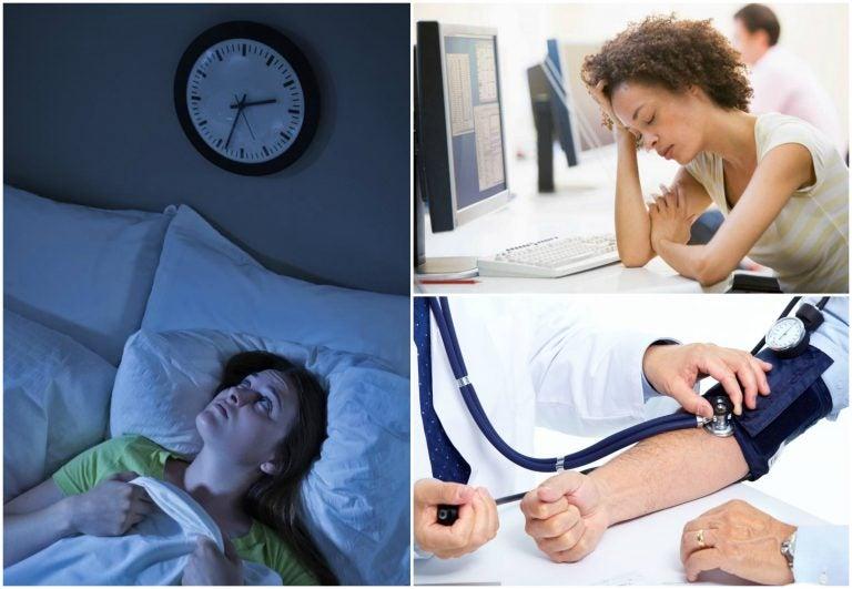 7 problemas a los que te enfrentas por no dormir bien