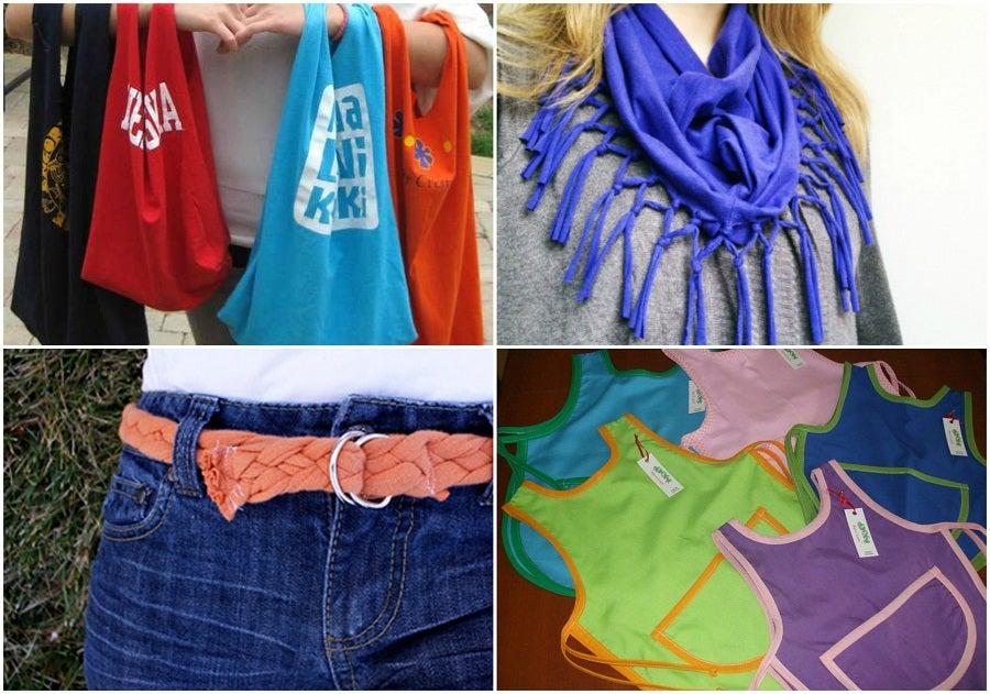 9 formas de reciclar esas viejas camisetas de algodón — Mejor con Salud 997b74822ce