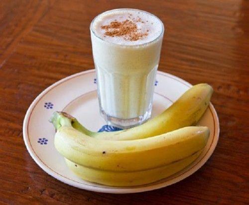 Batido-de-banana-con-canela