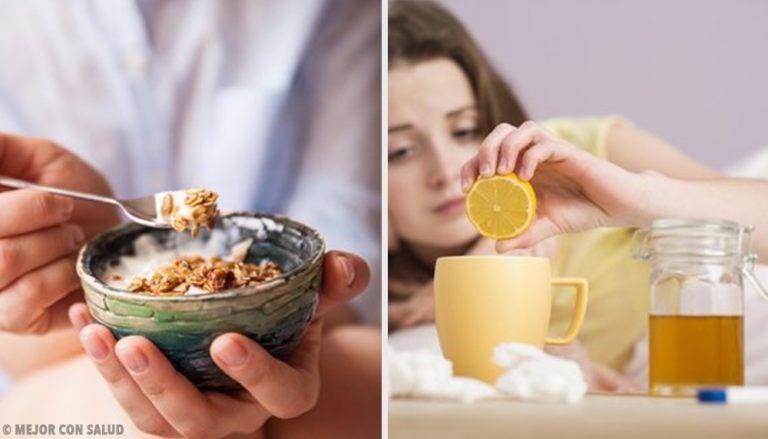 Cómo alimentarnos cuando estamos resfriados